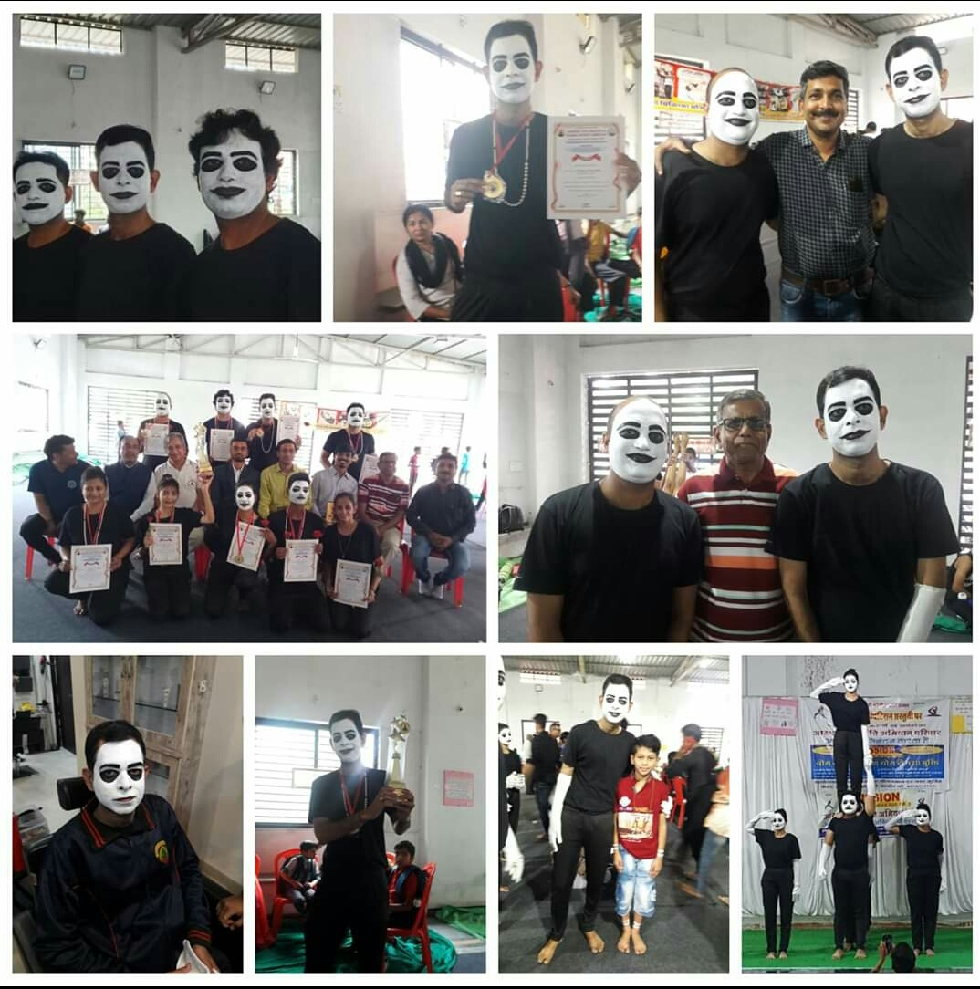 MIME SHOW ON GANDHI JAYANTI